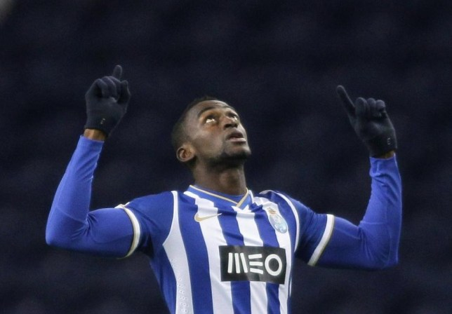 Jackson Martinez has been linked with a move to England (Picture: Reuters)