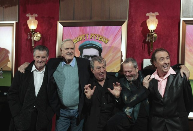 The Monty Python troupe