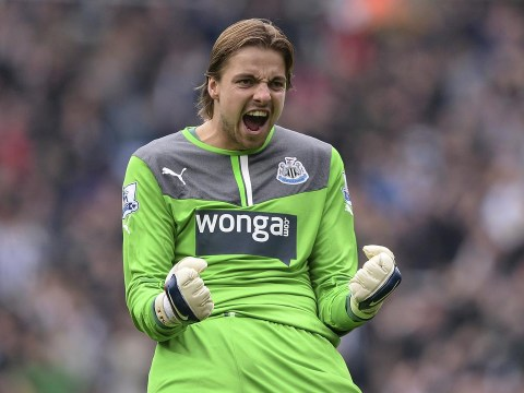 Tim Krul could leave Newcastle to become new AC Milan coach Clarence Seedorf's first signing