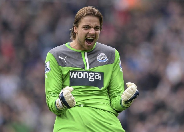 Tim Krul could be off to Milan (Reuters)