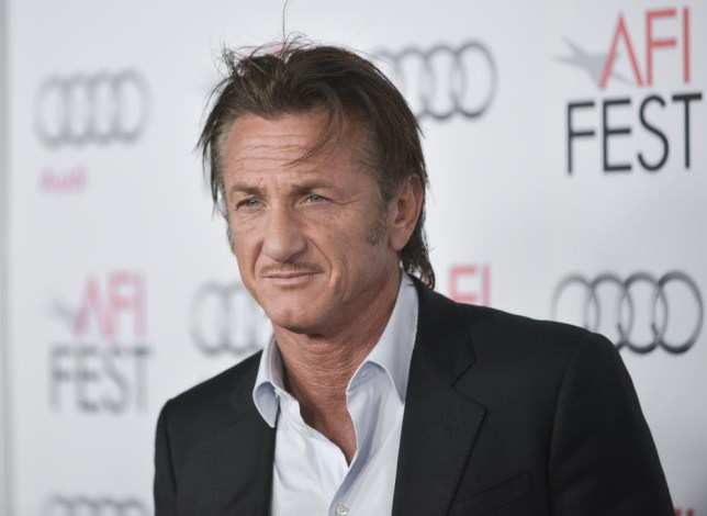"Sean Penn arrives at the 2013 AFI Fest premiere of ""Secret Life of Walter Mitty"" at the TCL Chinese Theatre on Wednesday, Nov. 13, 2013 in Los Angeles. (Photo by Richard Shotwell/Invision/AP) Richard Shotwell/Invision/AP"