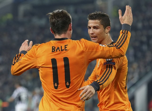on sale 9da07 0c139 Gareth Bale given seal of approval by Cristiano Ronaldo ...