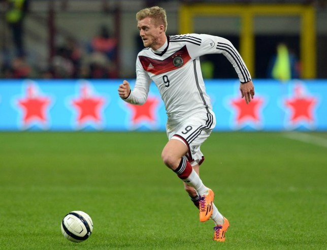 Andre Schurrle is set to start against England (Picture: Getty Images)