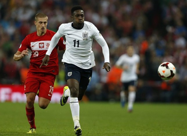 Danny Welbeck has a knee problem (Picture: AFP/Getty Images)