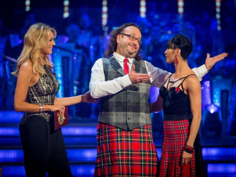 Strictly Come Dancing, week 7, Sunday's results show: Dave Myers heads home as Mark Benton lives to dance another day