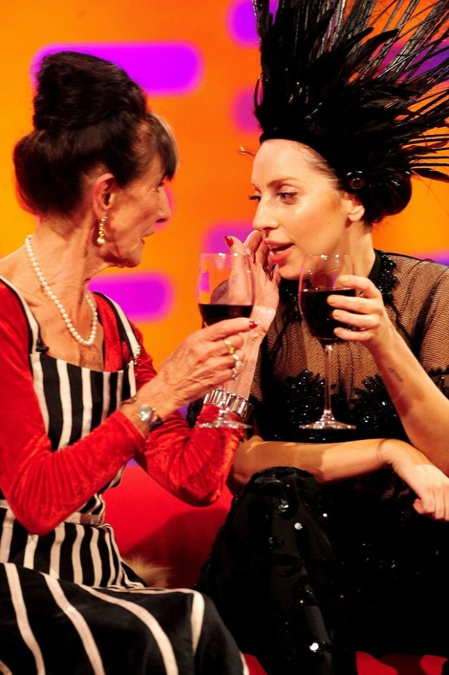June Brown and Lady Gaga swap skincare tips (Picture: PA Wire/Press Association Images)
