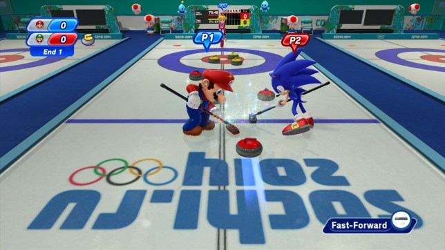 Mario & Sonic At The Sochi 2014 Olympic Winter Games (Wii U) - time to boycott the Olympics