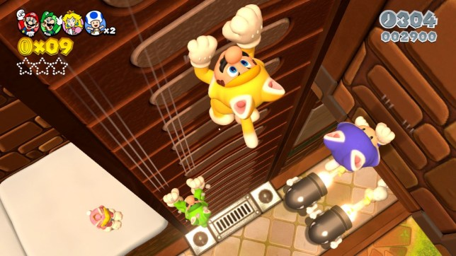 Super Mario 3D World (Wii U) - the cat will have your tongue