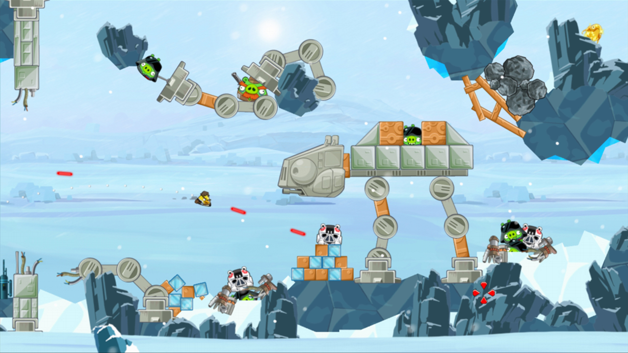 Angry Birds Star Wars (360), later, more expensive, less seductive