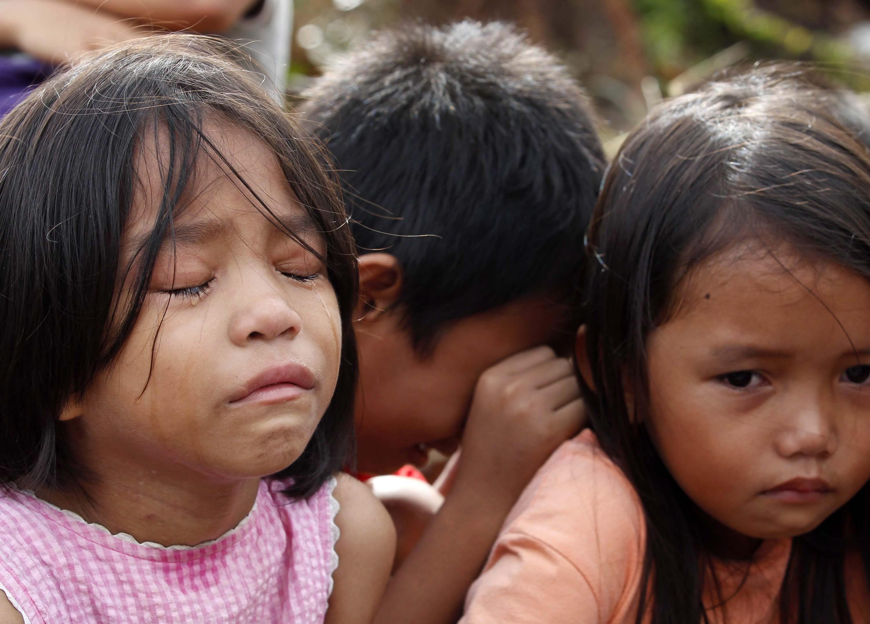 Gallery: The children of Typhoon Haiyan