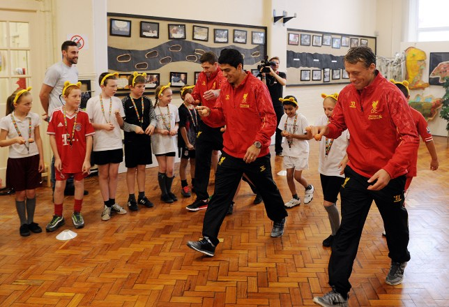 Soccer - Liverpool Players film for BBC Children in Need - Handouts