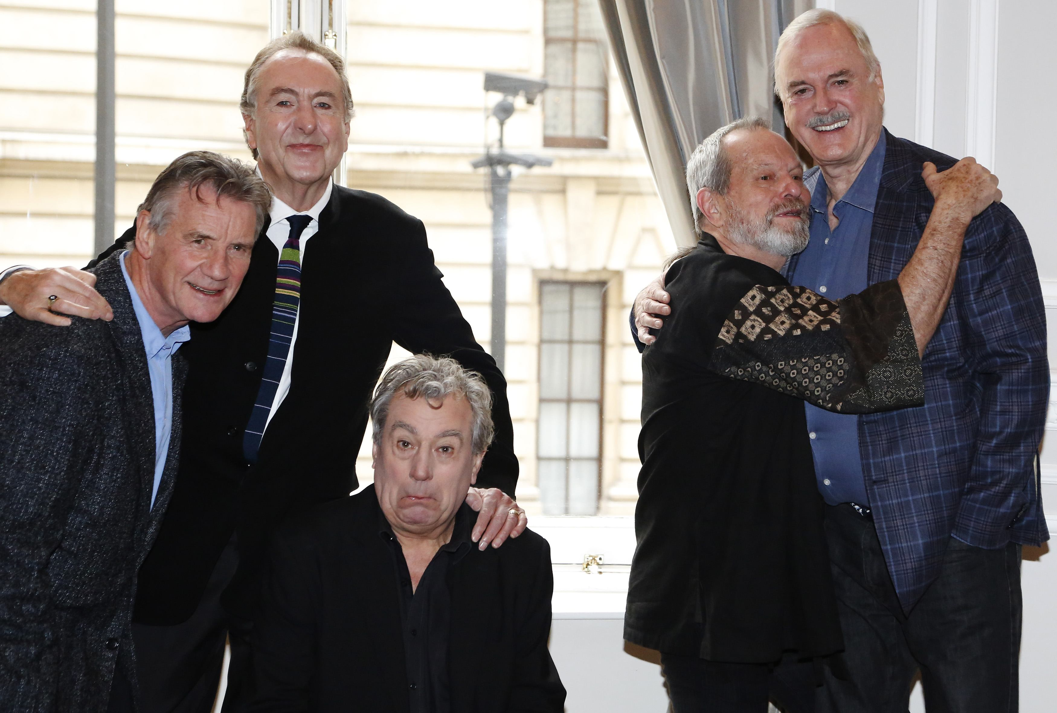 Monty Python reunion: 8 of the silliest jokes from the press conference