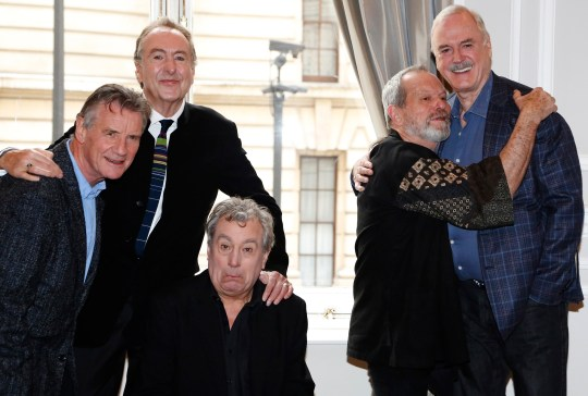 Monty Python are reuniting for a special one-off show (Picture: Reuters)