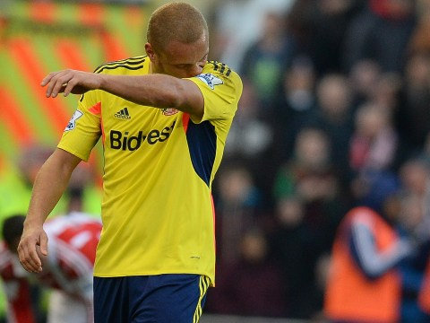Worst red card ever? Sunderland's Wes Brown sent off for 'fair tackle' at Stoke