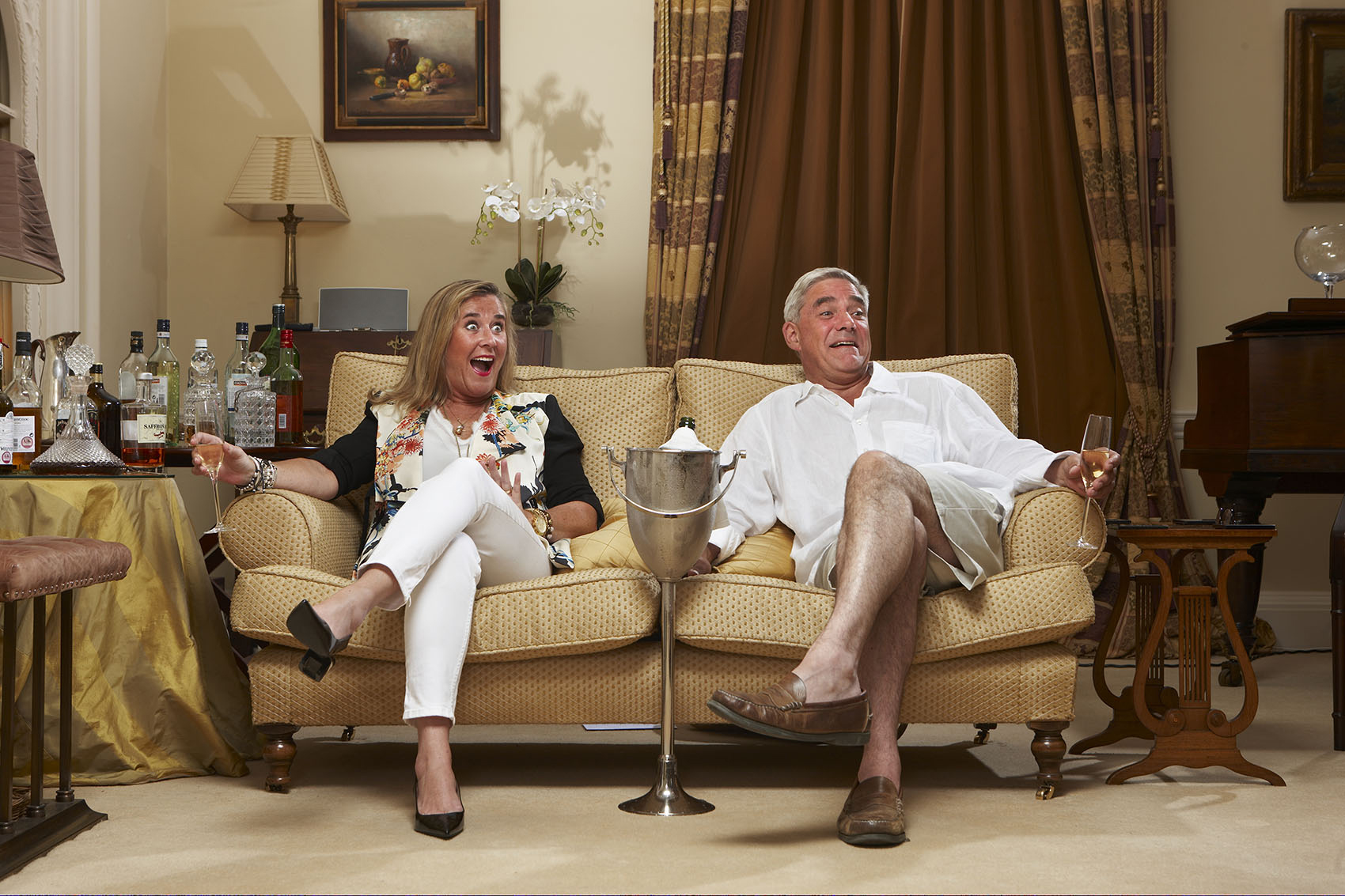 Gogglebox's Steph:  If you're watching a documentary about Boris Johnson, you think: 'Another drink. More, more, more!'