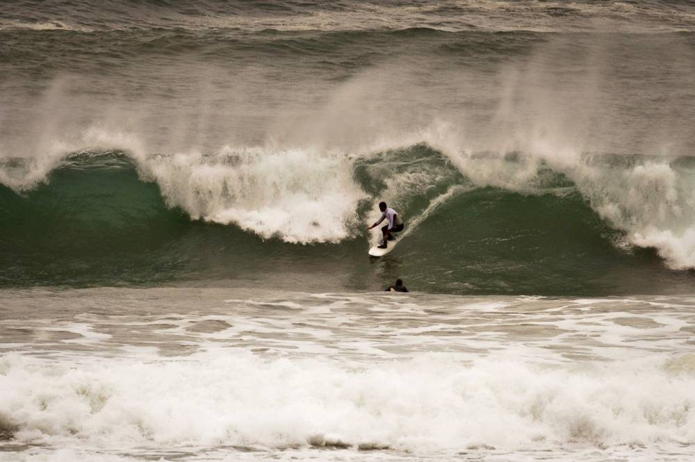 'Brave' Newquay surfers save life of woman after she runs into trouble