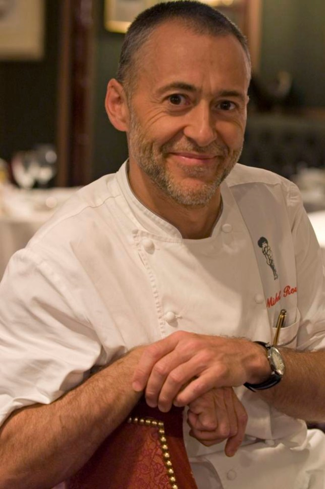 Michel Roux Jr's The French Kitchen is his first book for three years (Picture: Jon Wyand)