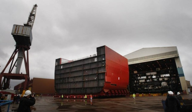 1,000 shipyard jobs at risk as defence giant plans cutbacks