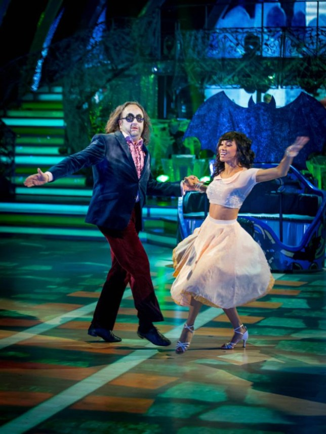 Strictly Come Dancing Dave Myers