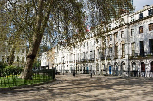 Fitzroy Square in London's West End (Picture: Alamy)