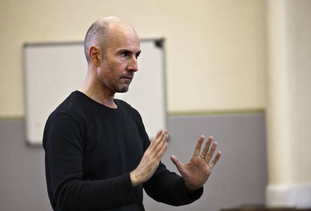 Director Ian Rickson is starting from scratch for his new production of Mojo (Picture: Simon Annand)
