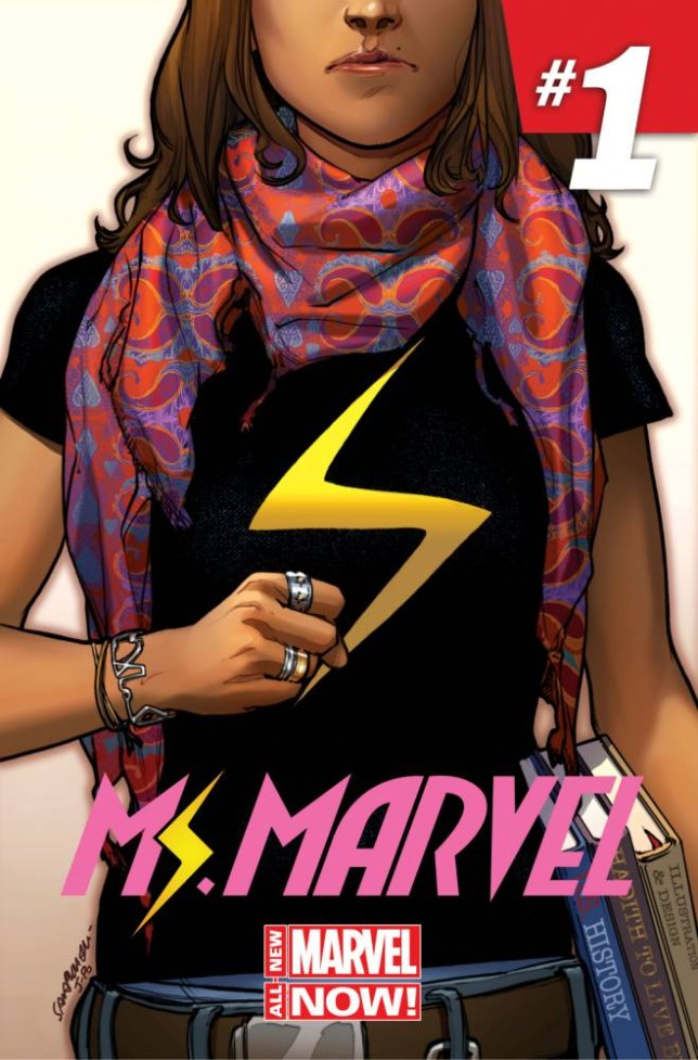 Marvel Comics makes history with female Muslim superhero