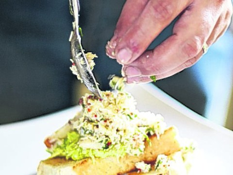 How to make Movember spiced crab and avocado on toast