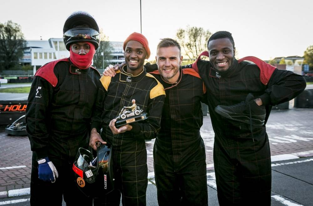 Rough Copy go-karting trip reveals Joey Thomas is a good driver and Kazeem loves his shoe