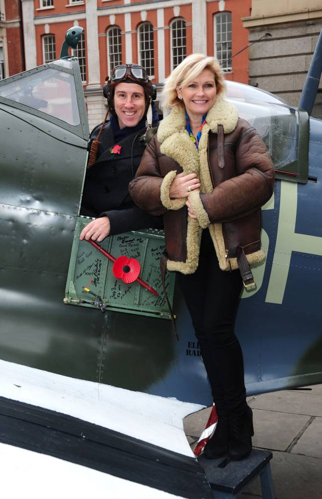 Gallery: Strictly Come Dancing contestants selling poppies in London