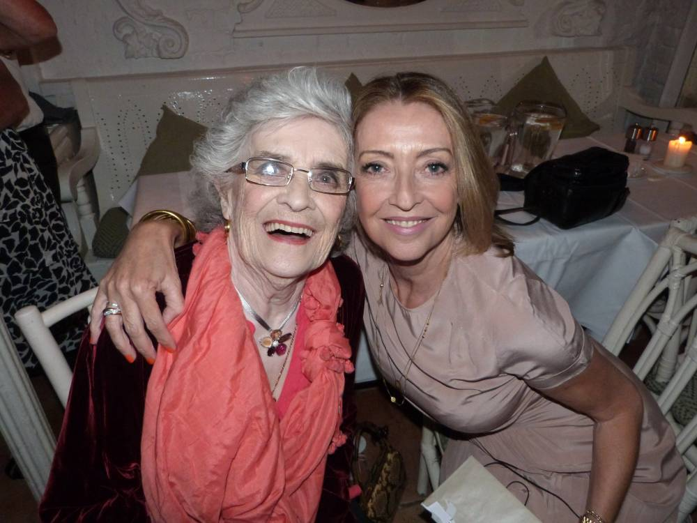 Sharon Maughan with her mother, Norah (Picture: supplied)