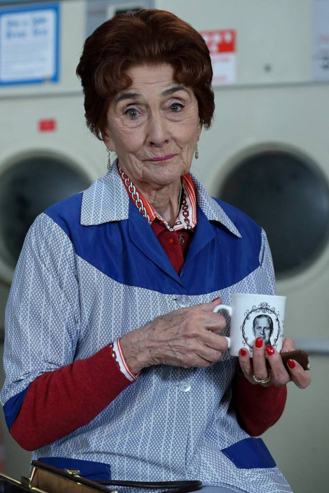 Programme Name: EastEnders - TX: n/a - Episode: n/a (No. n/a) - Embargoed for publication until: n/a - Picture Shows: Dot Branning. Dot Branning (JUNE BROWN) - (C) BBC - Photographer: Jack Barnes