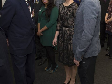 Duke of Edinburgh jokingly tells double amputee to 'put some wheels on'