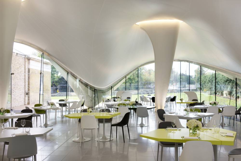 All the Serpentine Gallery's The Magazine is missing are some aliens