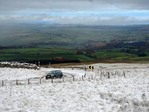 Gallery: Winter approaching – snow fall in Cumbria