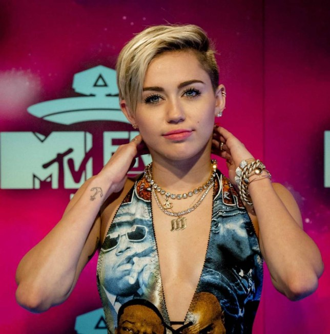 Miley Cyrus back in the limelight at the MTV EMA