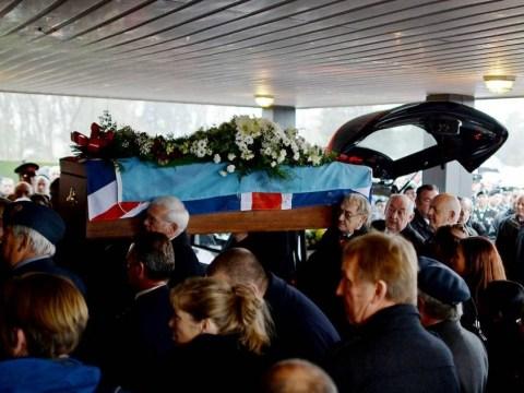 Harold Jellicoe Percival: Hundreds of strangers attend funeral of 'forgotten' RAF veteran