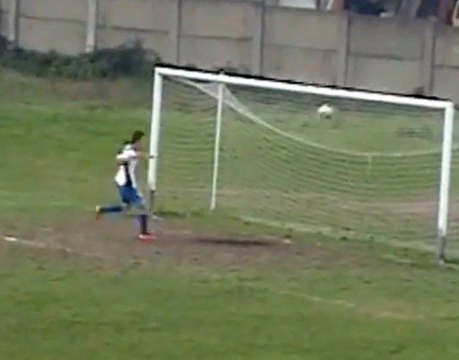 Unbelievably bad stuff from the Bosnian ace (Picture: YouTube)