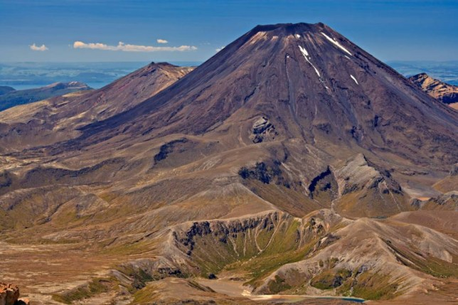 Mount Tongariro in Wellington is the real-life Mount Doom from Lord Of The Rings (Picture: Alamy)