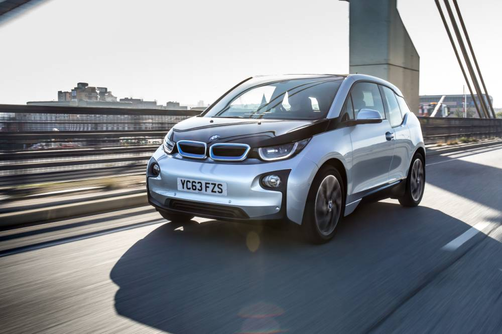 The BMWi3 is made from carbon-reinforced plastic and is no slouch in the power department (Picture: supplied)
