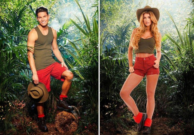 Romance in the wild? Could Joey Essex and Amy Willerton find love Down Under? (Picture: ITV)