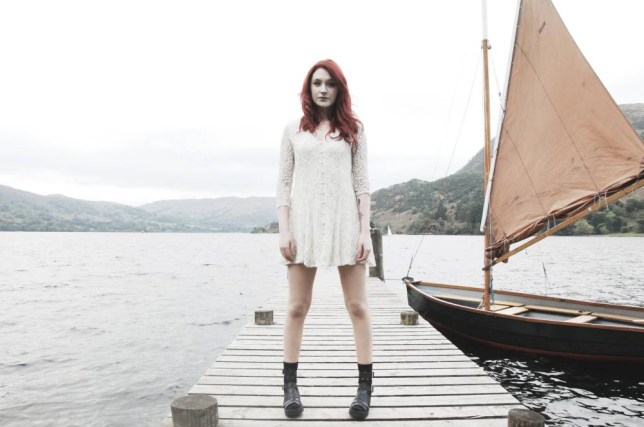 Former X Factor contestant Janet Devlin has released her own album (Picture: Malc Stone)