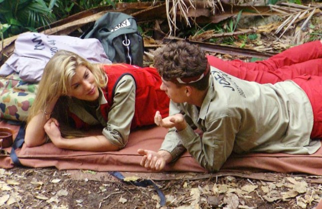 **EMBARGO - NOT TO BE USED BEFORE 21:00 18th NOV 2013**  EDITORIAL USE ONLY - NO MERCHANDISING  Mandatory Credit: Photo by ITV/REX (3382198ea)  Joey Essex and Amy Willerton  'I'm A Celebrity Get Me Out Of Here' TV Programme, Australia - 18 Nov 2013  Amy and Joey get close