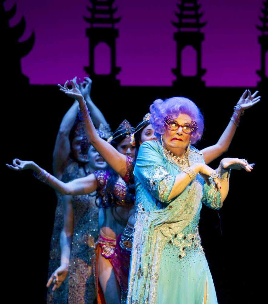 Barry Humphries is calling it a day as Dame Edna (Picture: Alastair Muir)