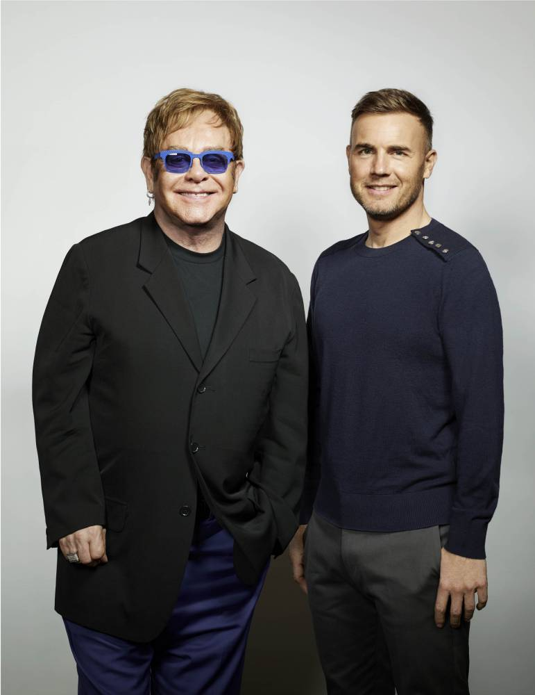 Gary Barlow left in 'awe' after recording Elton John duet in 10 minutes