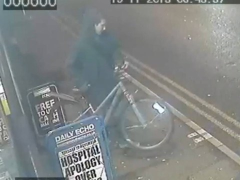 CCTV released of 'opportunistic' man stealing teenage papergirl's bike