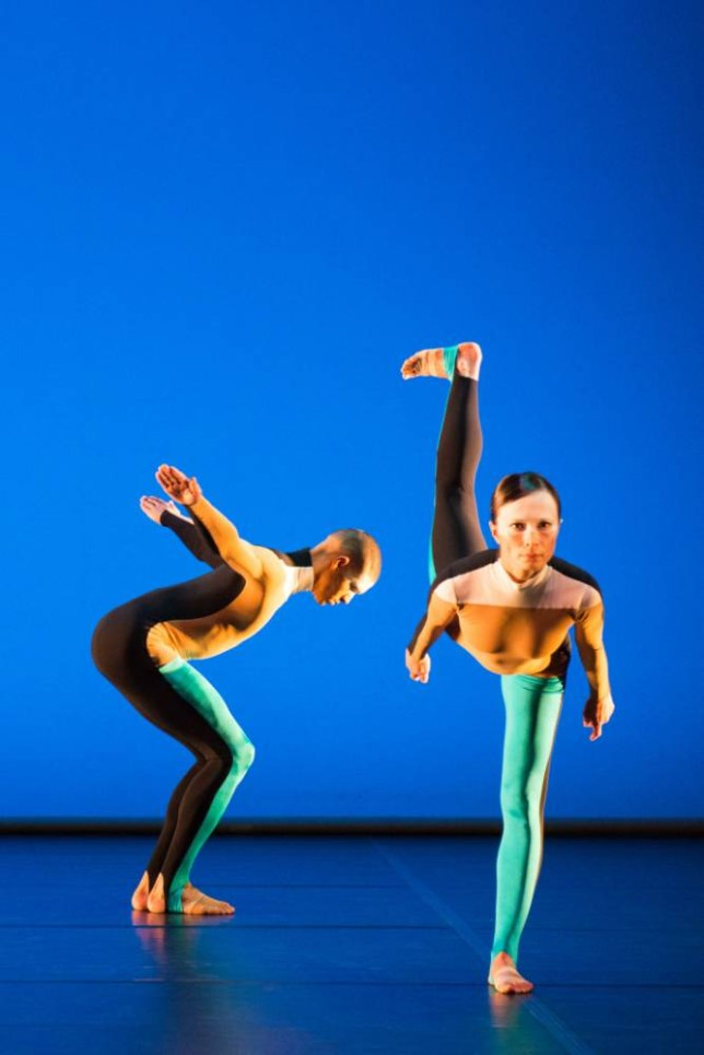 The Michael Clark Company perform the third part of the triple bill (Picture: Tony Nandi)