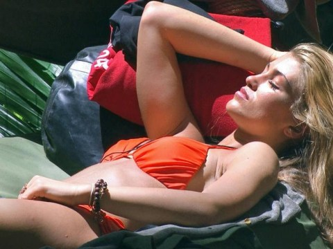 I'm A Celebrity: 6 pictures of Amy Willerton doing absolutely nothing in camp