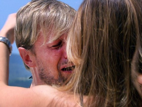 I'm A Celeb's Kian Egan sobs as he's reunited with his wife Jodi Albert