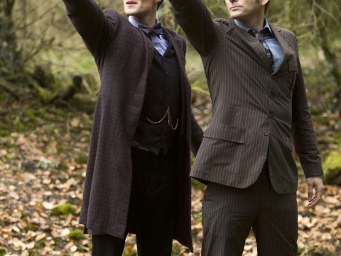 Doctor Who writer Steven Moffat 'terrified' ahead of The Day of the Doctor broadcast