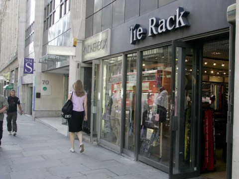Tie Rack joins the high street exodus as shoppers buy online